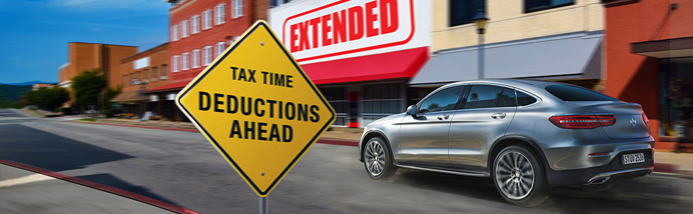 Tax time deductions ahead - Mercedes-Benz Toowong